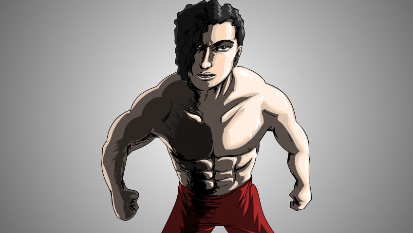 Asian Muscleman