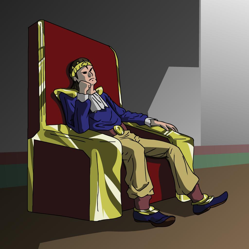 The King of Tupaenda Vector Art